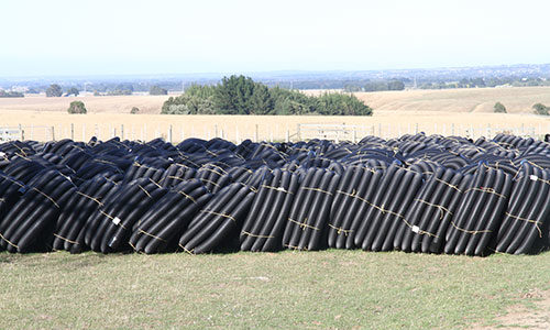 bailey black snake drainage pipe